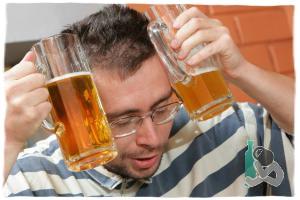 Опохмеляемся пивом