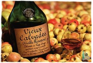 Бутылка Calvados