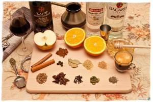 Специи для приготовления глинтвейна