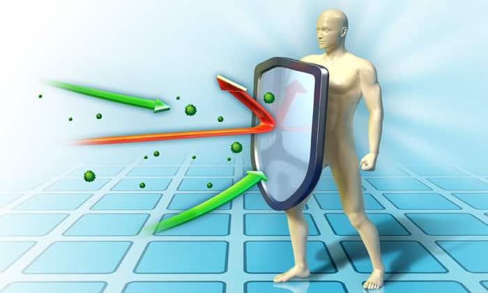 Он способствует повышению иммунитета. Выпив два стакана напитка, можно восстановить суточную потребность организма в витаминах А и С