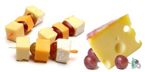 Канапе из сыра