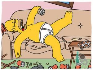 Симпсон с похмелья