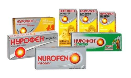 Нурофен как лекарства от похмелья для снятия головной боли