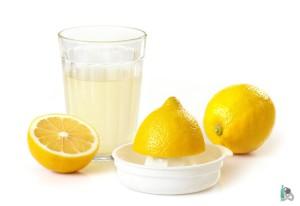Стакан лимонного сока