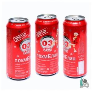 Энергетический напиток Доктор ПохмЕлин