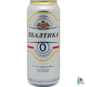 """Безалкогольное пиво """"Балтика 0"""""""