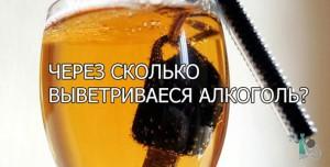 Через сколько выветривается алкоголь