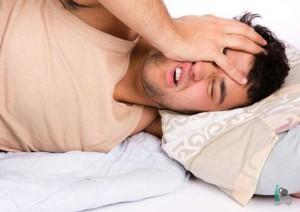 Тяжело уснуть с похмелья