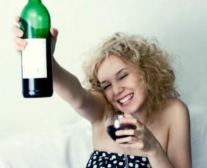Алкоголь расслабляет, но ненадолго