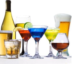 Различный алкоголь