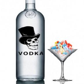 водка и лекарство