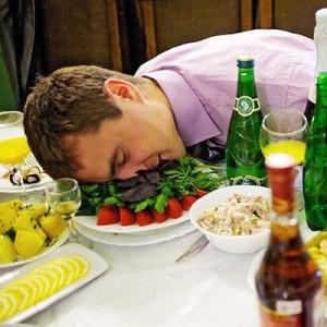 После приема Фенотропила опьянение наступает позже и от гораздо большего количества спиртного