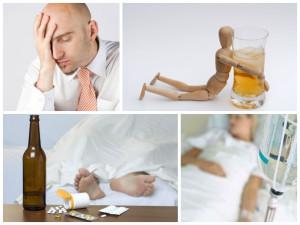 2.Абстинентного синдрома при алкоголизме.