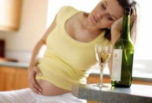 Употребление алкоголя во время беременности