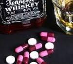 таблетки и виски