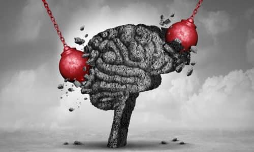 Воздействие на мозг приводит к ослаблению внимания, ухудшению когнитивных способностей, частичной потере памяти, слабоуми