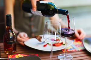обед и вино