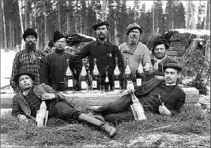 пьянство на рубеже веков