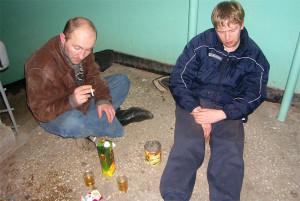 соседи алкоголики