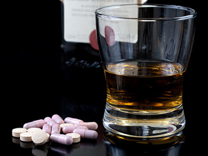 Взаимодействие Венаруса и алкоголя