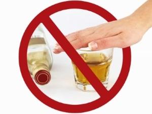 Отказ от алкоголя для восстановления печени