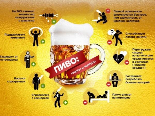 Польза пива для мужчин и женщин - есть ли она?