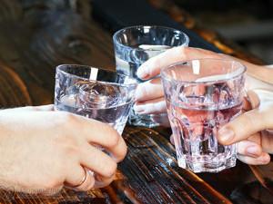 Прием водки