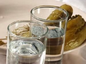 Закусывание водки