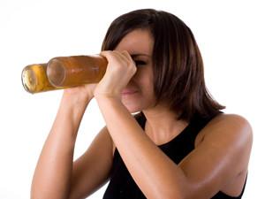 Воздействие алкоголя на зрение
