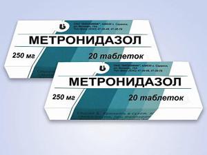 Метронидазол для выведения водки из организма