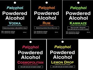 Пакетики с сухим алкоголем