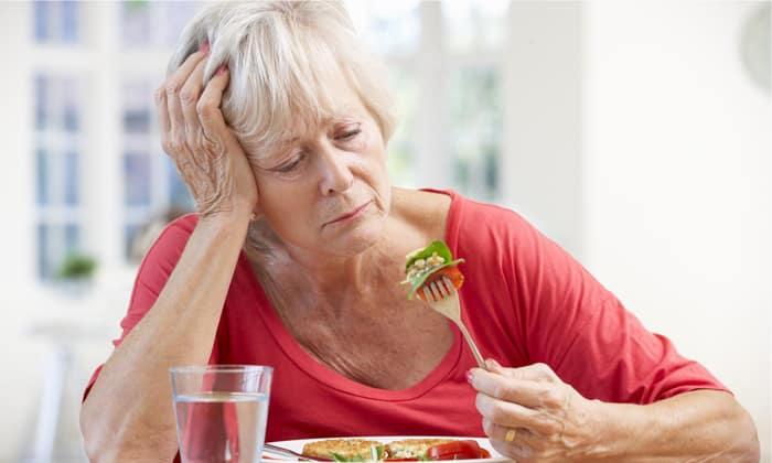 При отсутствия аппетита сода рекомендуется