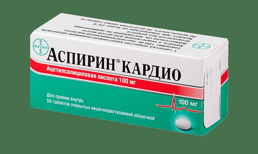 Для разжижения крови и снижения риска развития осложнений применяется Аспирин