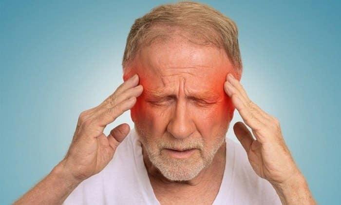 Головная боль является показателем интоксикации организма