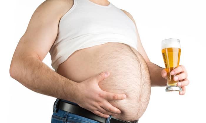 Убираем пивной живот у мужчин и женщин комплекс упражнений и диета
