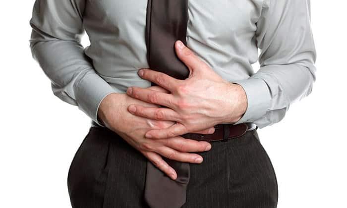 Негативное воздействие оказывается на желудочно-кишечный тракт