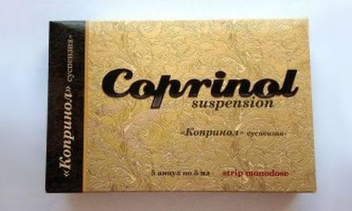 Копринол способствует облегчению отказа от спиртного, формируя физиологическое неприятие алкоголя