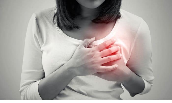 Вредное воздействие антибиотиков сопровождается болями в груди