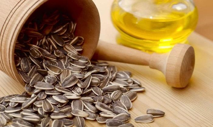 Янтарная кислота содержится в семенах подсолнечника