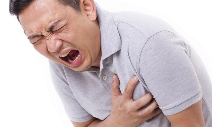 По мере прогрессирования изменений в структуре миокарда возникают боли