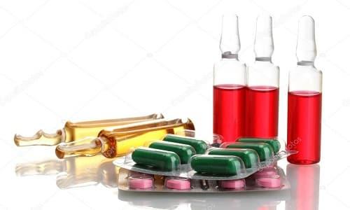 Выпускается препарат в форме раствора для инъекций и таблеток