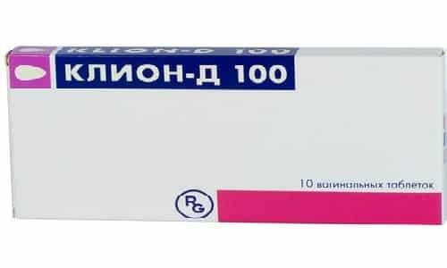 Клион назначается врачом для лечения многих инфекционных и глистных заболеваний