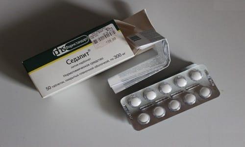 Седалит выпускается в таблетированной форме