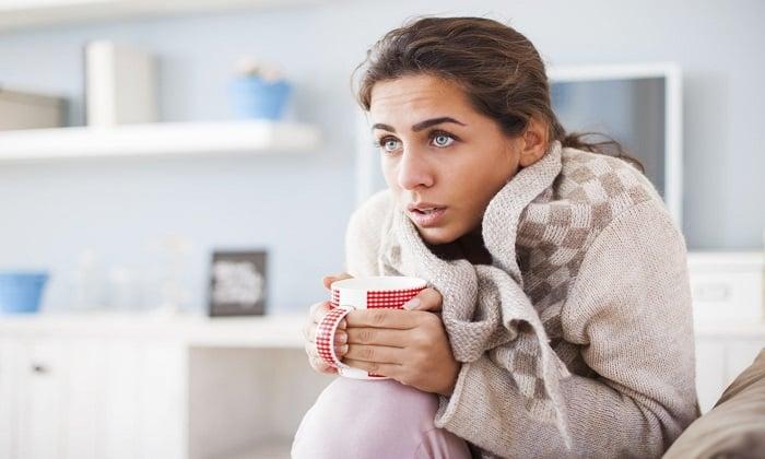 Побочные явления от приема Унтиола могут проявляться через озноб и высокую температуру тела