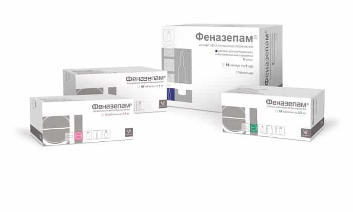 Феназепам самый популярный аналог транквезипама