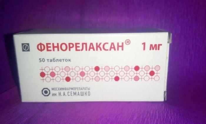Фенорелаксан можно использовать вместо транквезипама