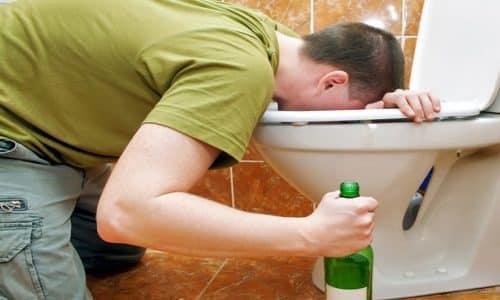 Показанием к применению Смекты является алкогольное отравление, в результате которого происходит расстройство пищеварительной системы