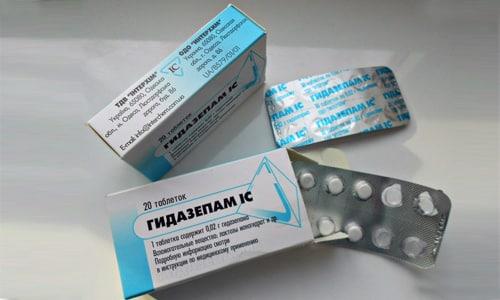 В качестве транквилизаторного средства медикамент используется по 70-120 мг в сутки