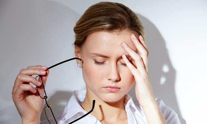 Препарат может вызвать головную боль и головокружение