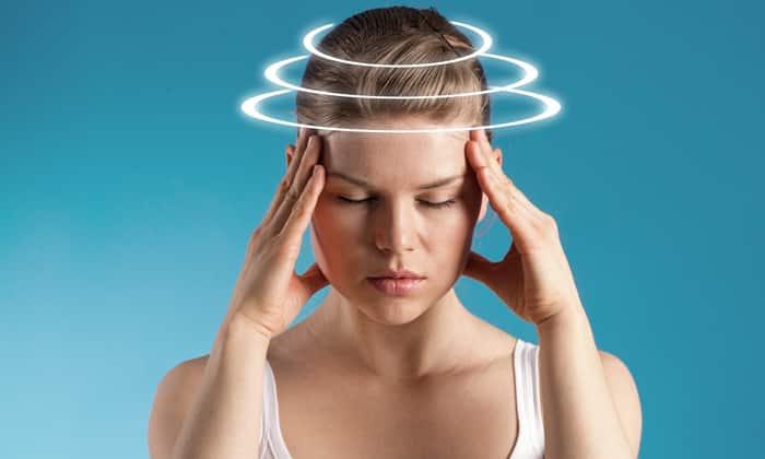 Передозировка может быть чревата головокружением